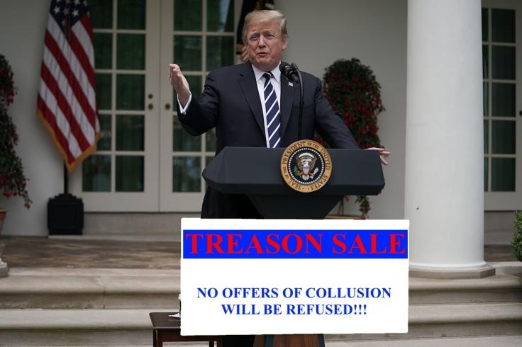 Treason Sale