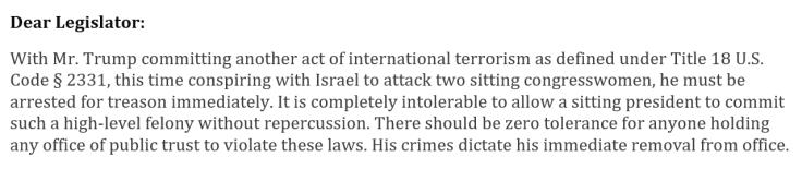 Internation Terrorism
